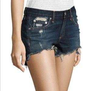 NWOT Rag & Bone Doris Wash Denim Shorts